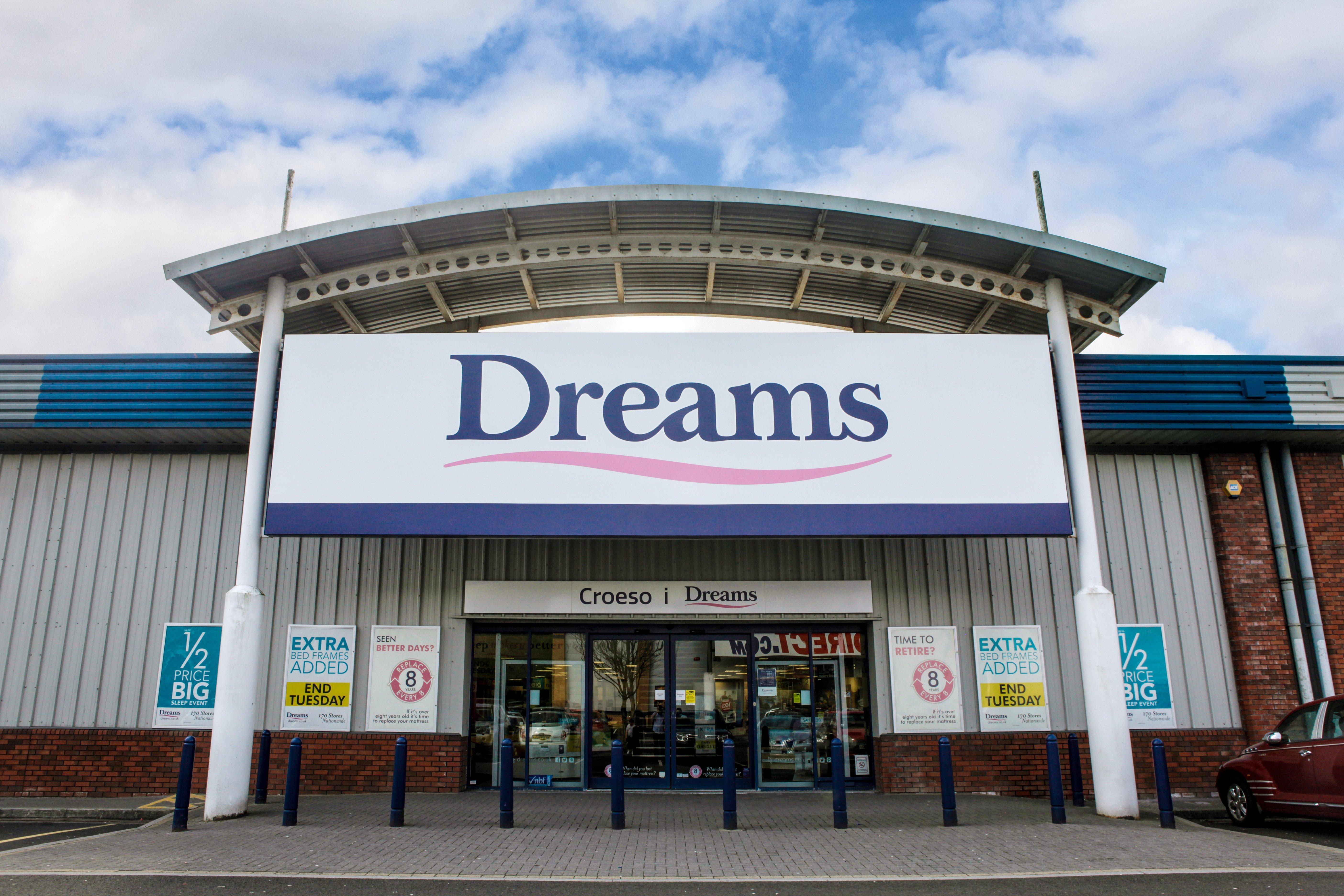 dreams store in merthyr tydfil - beds, mattresses