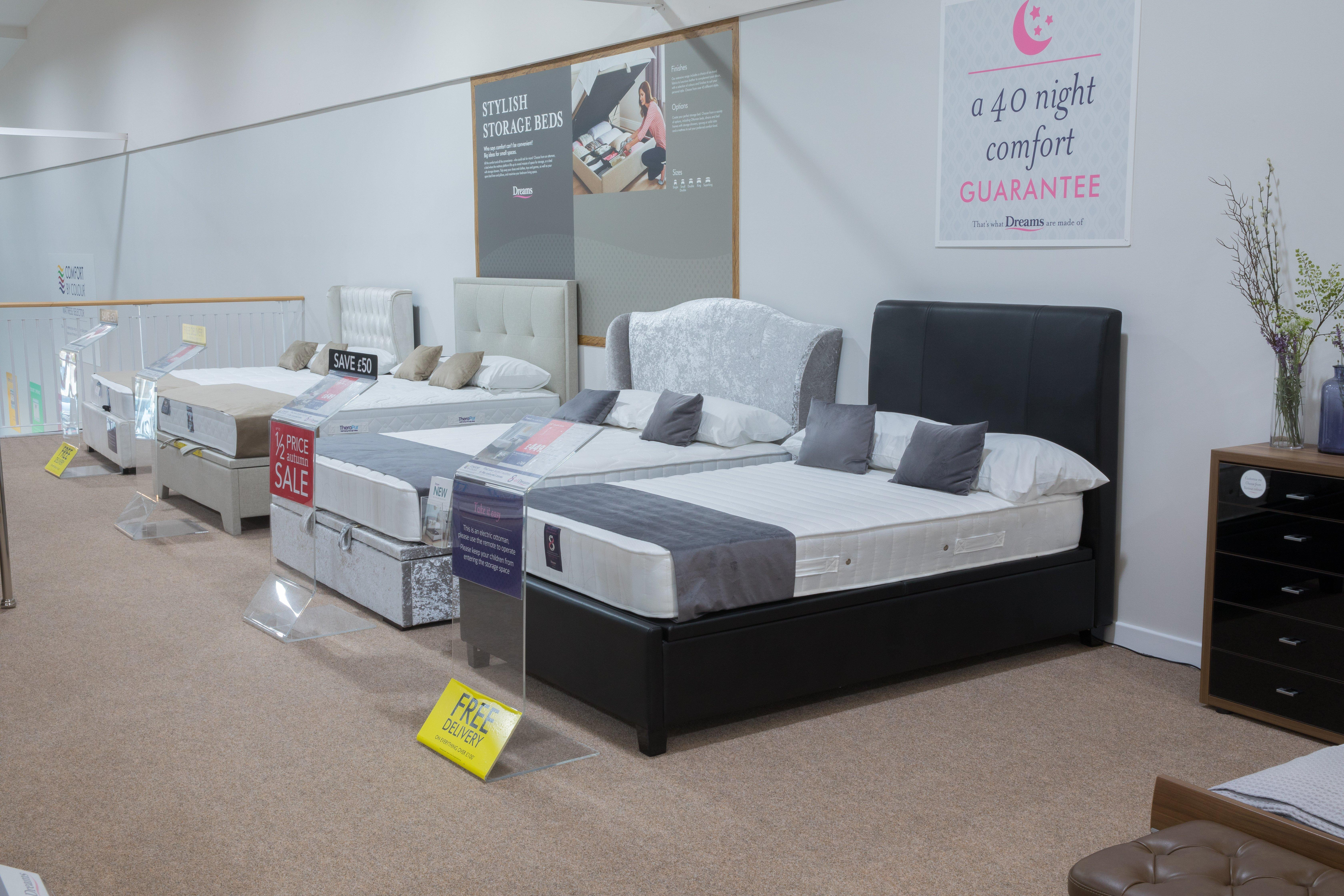 Phenomenal Dreams Store In Nottingham Beds Mattresses Furniture Home Interior And Landscaping Ologienasavecom