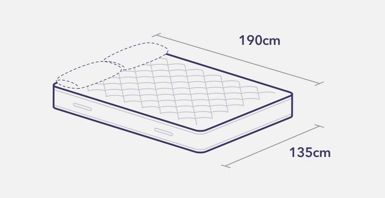 Double Bed Size.Mattress Sizes Bed Dimensions Guide Dreams