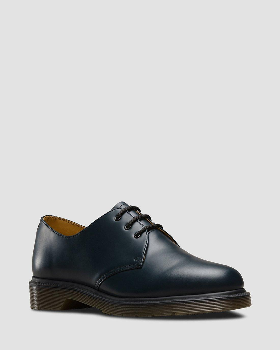 Dr martens 1461 plain welt smooth leather oxford shoes