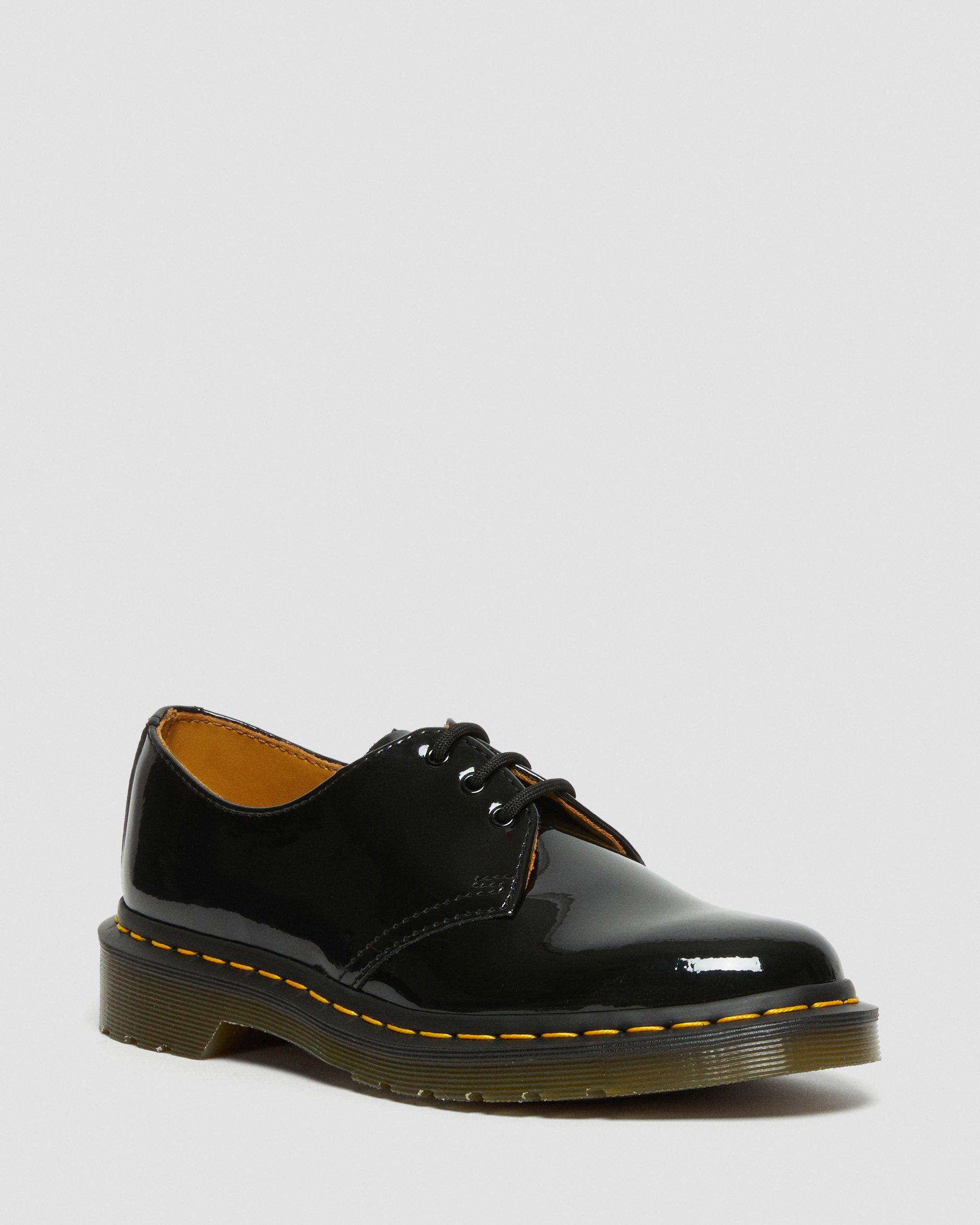 Dr martens 1461 patent leather shoes | Chaussure, Robe