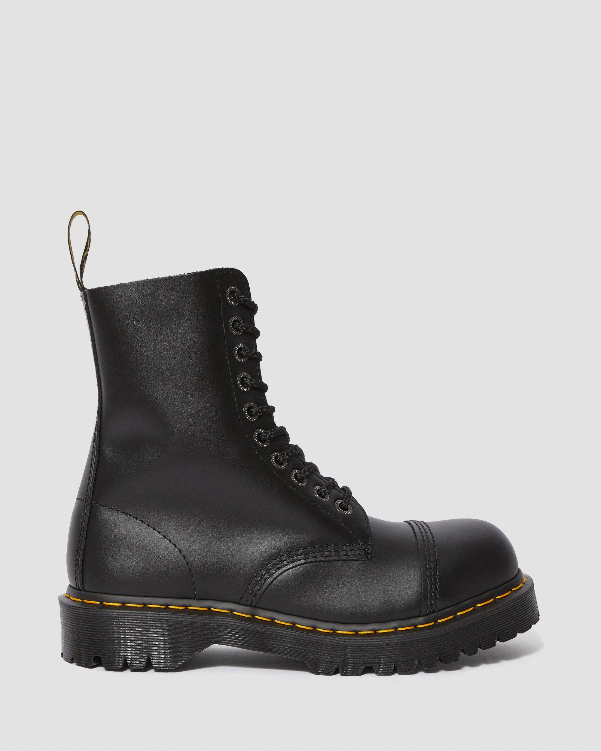 8761 BXB LEATHER MID CALF BOOTS | Dr