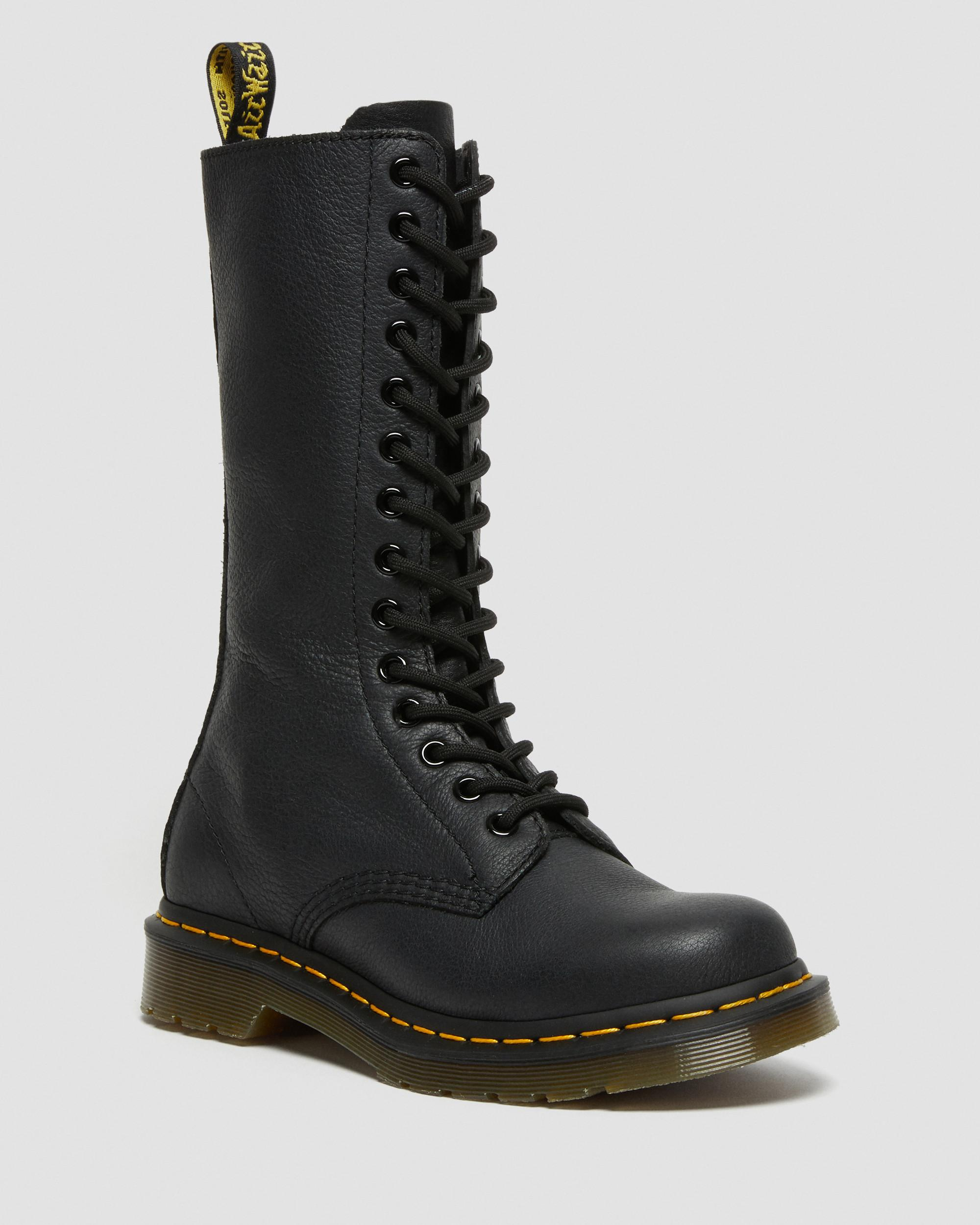 1B99 VIRGINIA LEATHER HIGH BOOTS | Boots femme | Boots