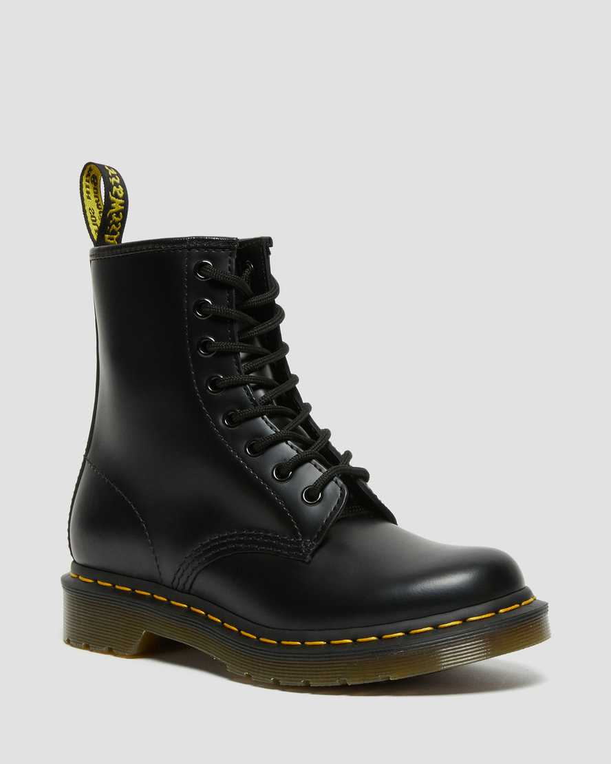 1460 Women S Smooth Leather Lace Up Boots Dr Martens Official