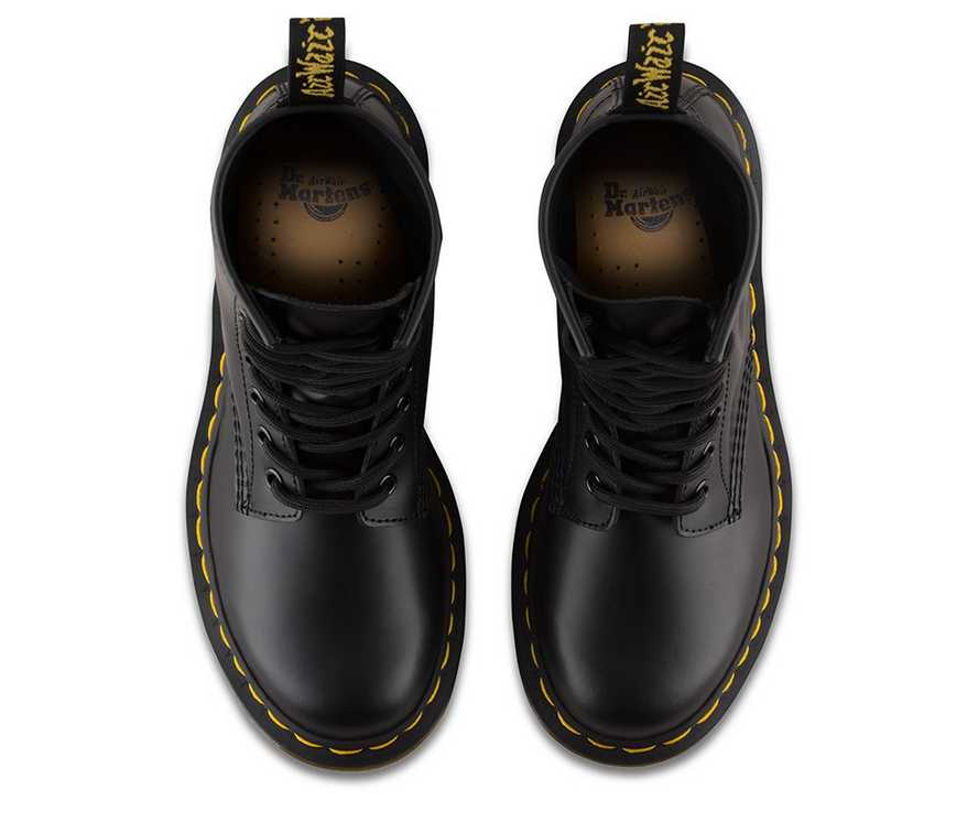 3b203b417bd3 WOMEN'S 1460 SMOOTH | Black and White Shoes & Boots | Dr. Martens ...