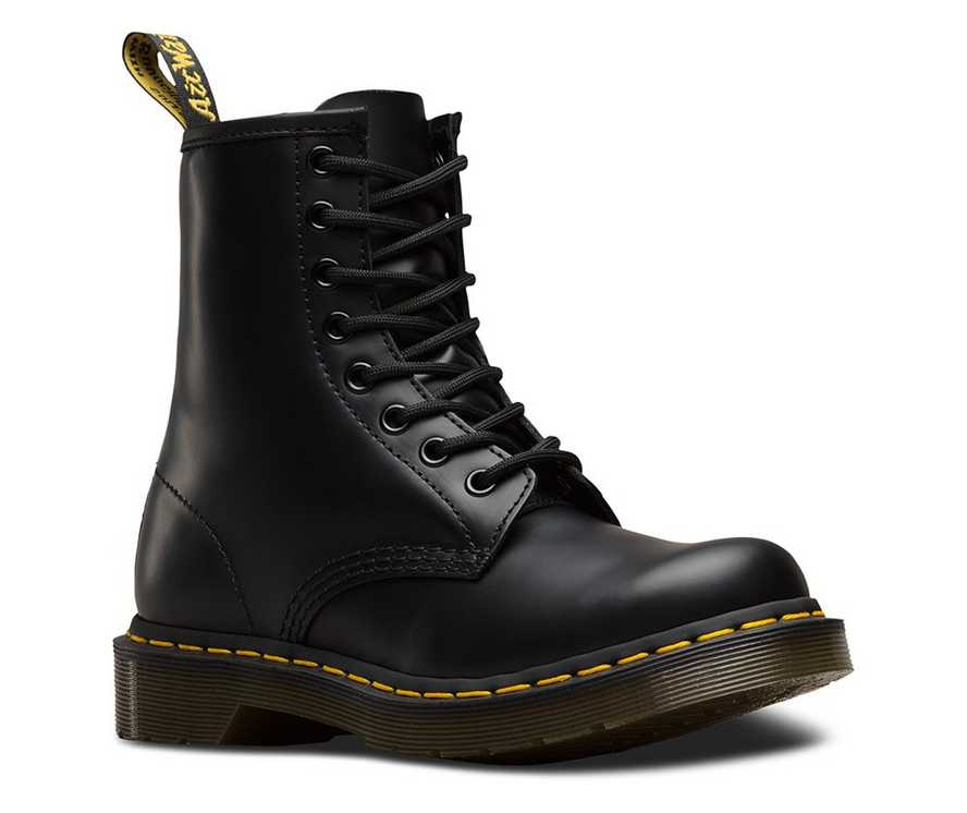 53fa6127c63 WOMEN'S 1460 SMOOTH | Black and White Shoes & Boots | Dr. Martens ...