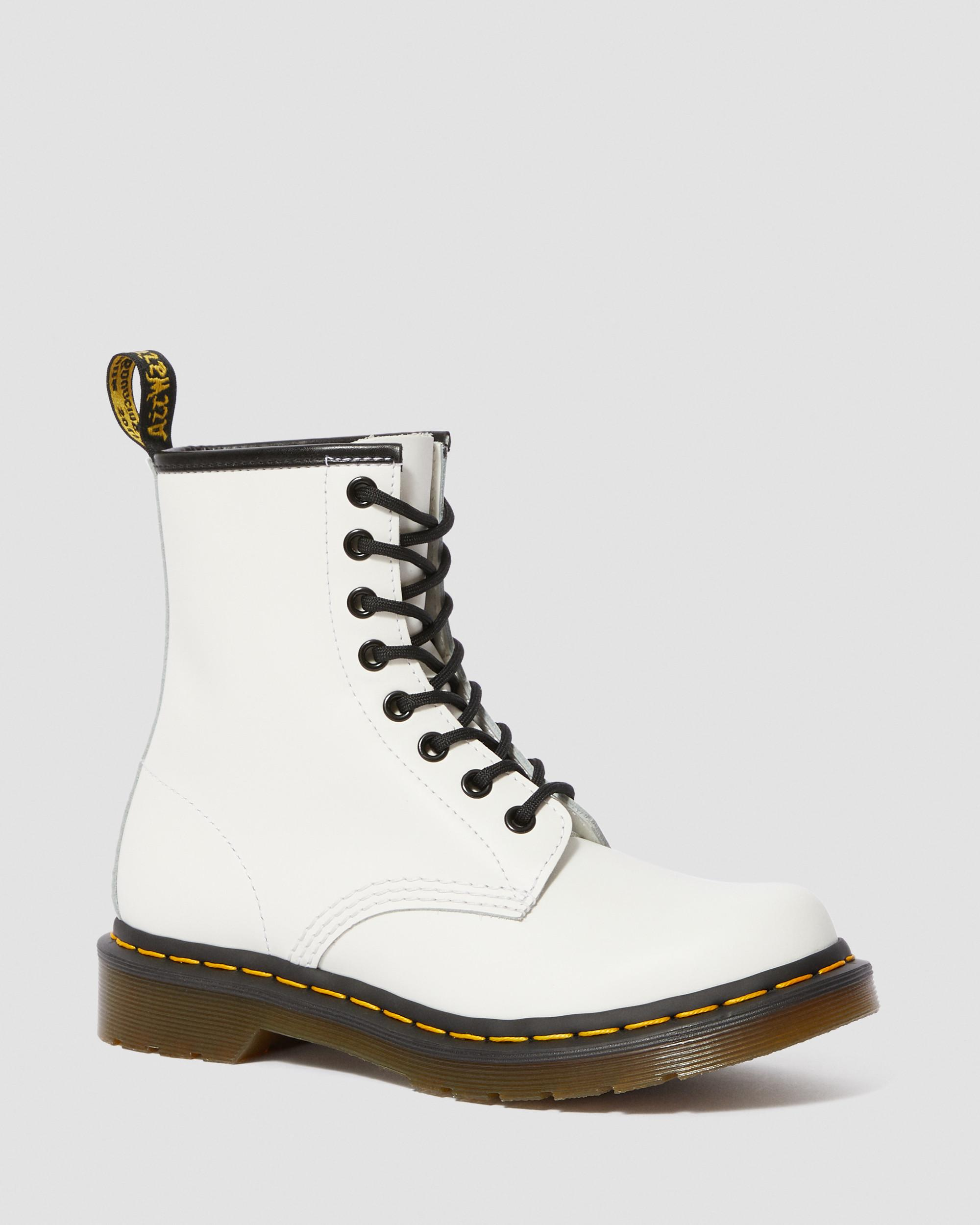 Shop Dr Martens 1460 Smooth White Online | Official Dr