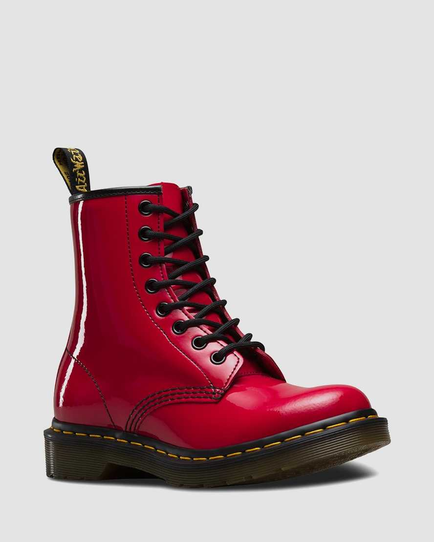 1460 Patent Leather Boots | Dr Martens