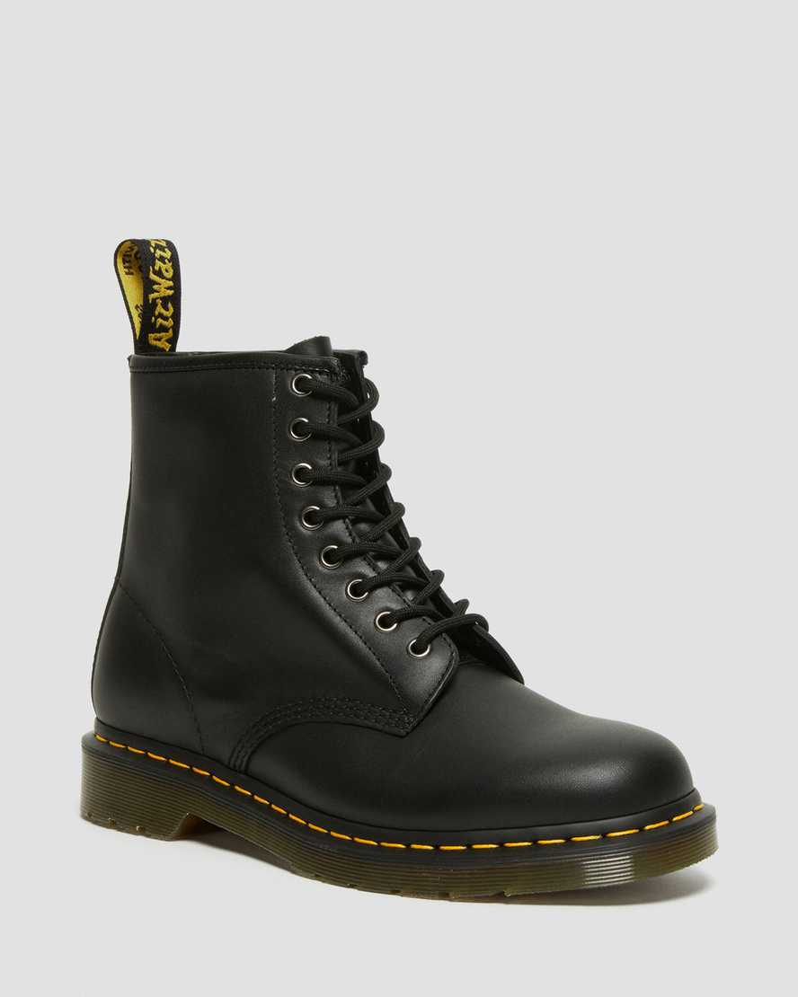 DR MARTENS 1460 NAPPA LEATHER LACE UP BOOTS