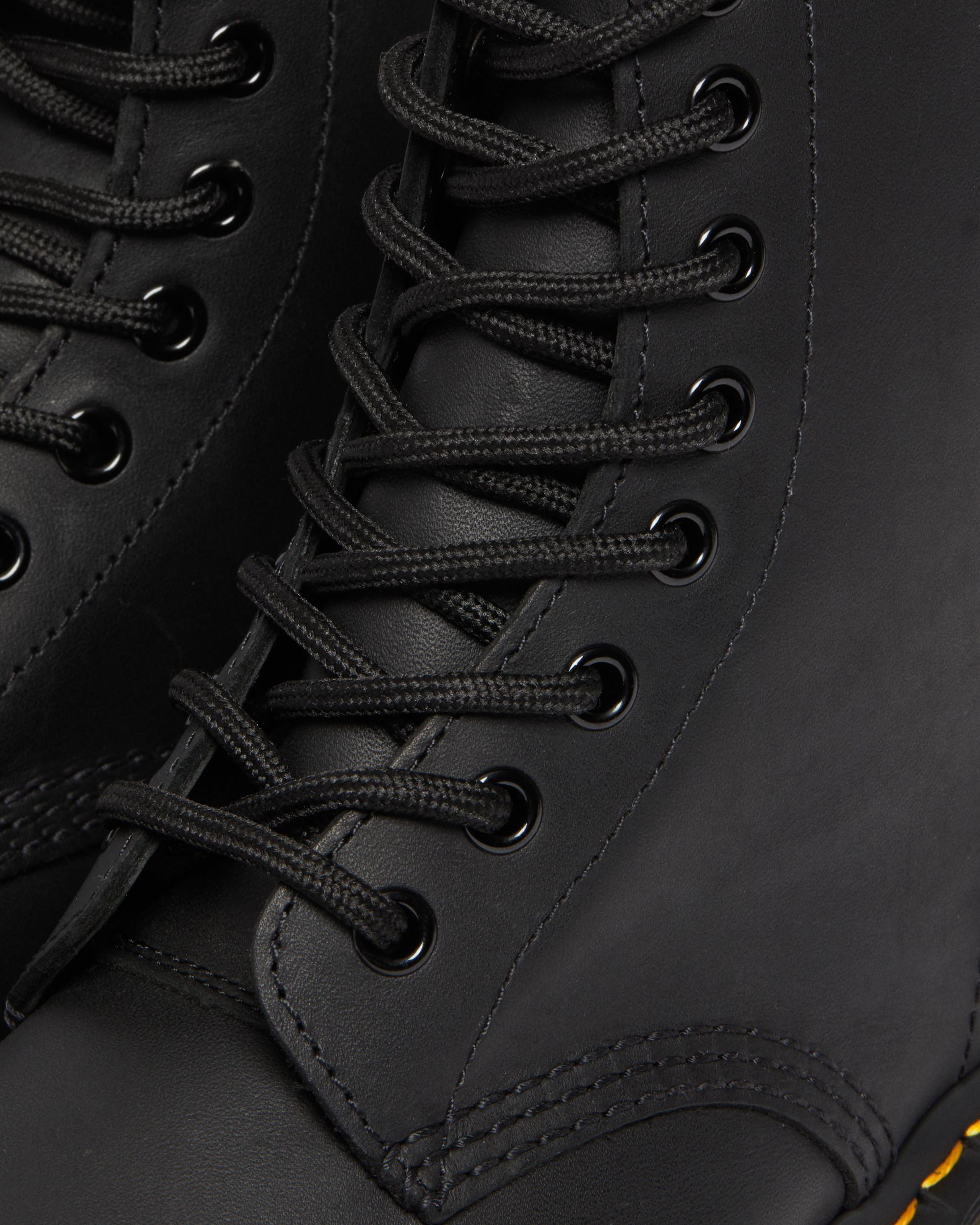 Dr. Martens 1460 8 eyes Greasy Black 11822003 Men's Boots | eBay