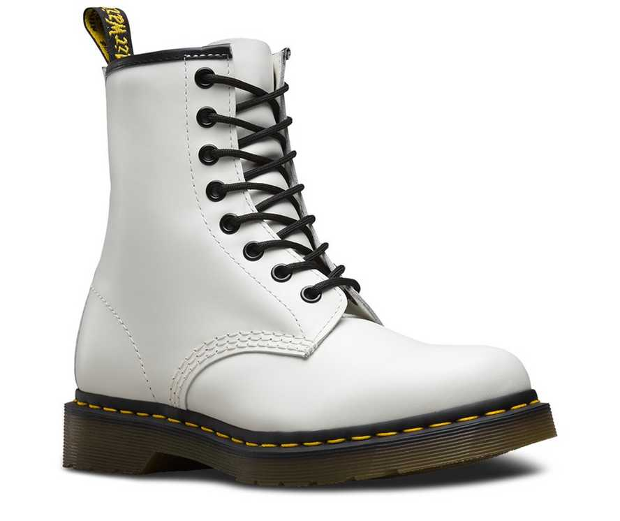 d9a60dc6eedef 1460 SMOOTH | Black and White Shoes & Boots | Dr. Martens Official