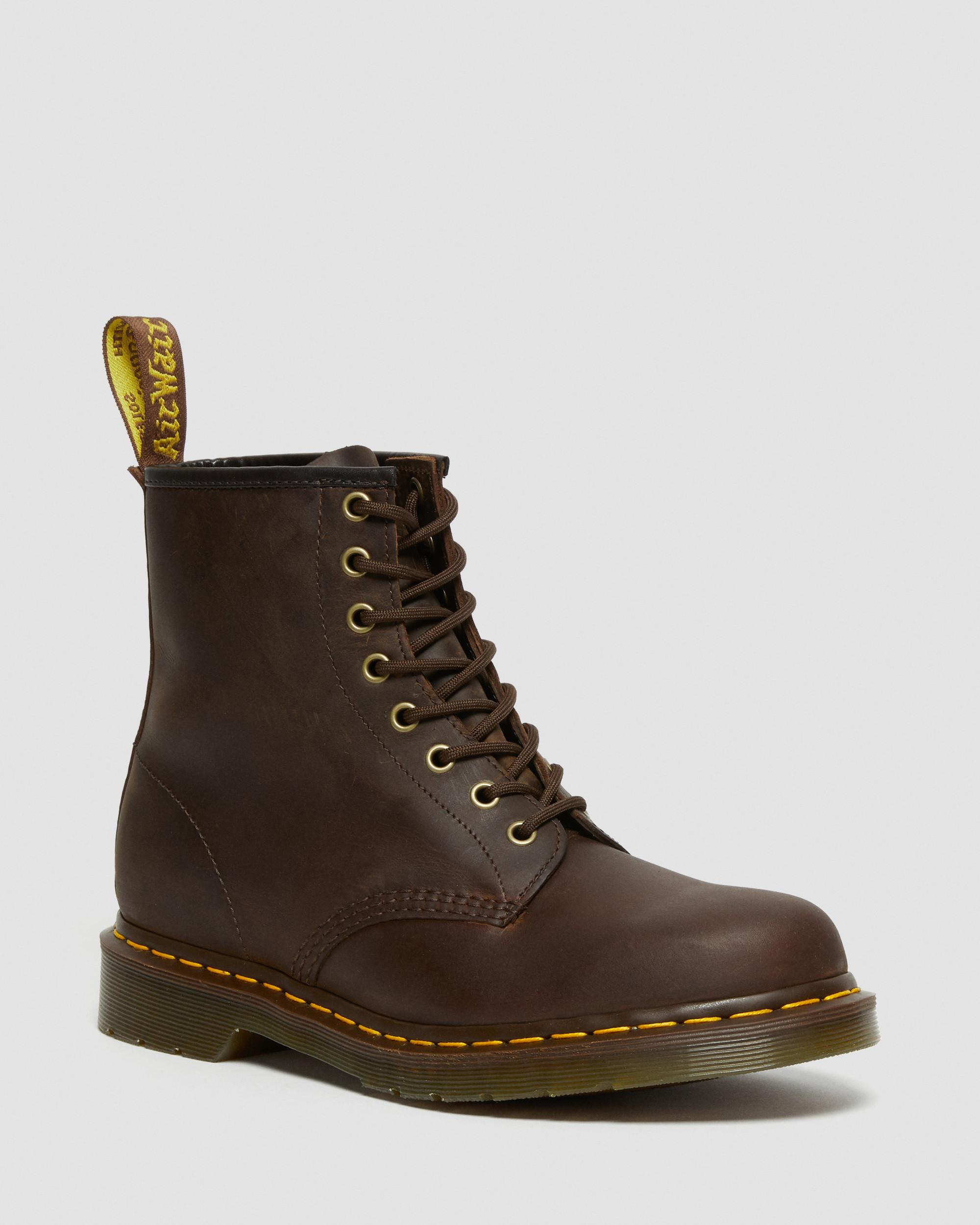 DR MARTENS 1460 LEATHER ANKLE BOOTS