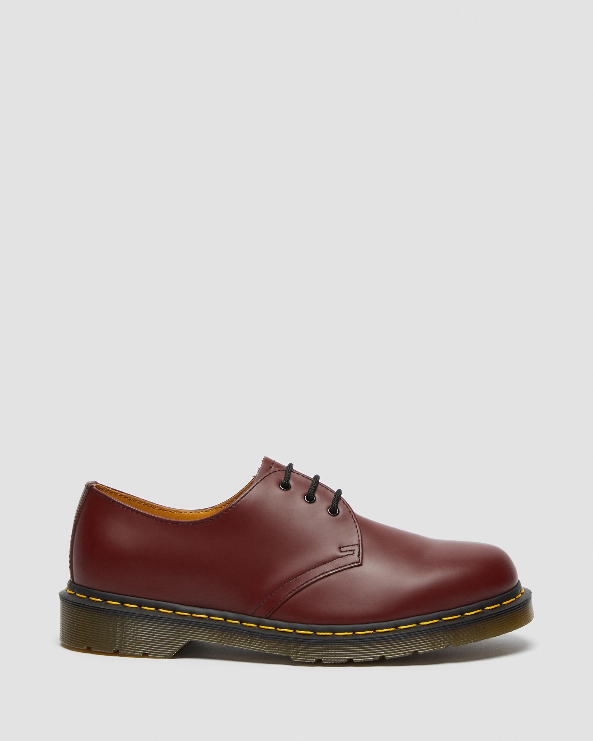 Martens Doc Boots 3 Loch Halbschuhe Schnürschuhe 11838600 Rot Neu Dr