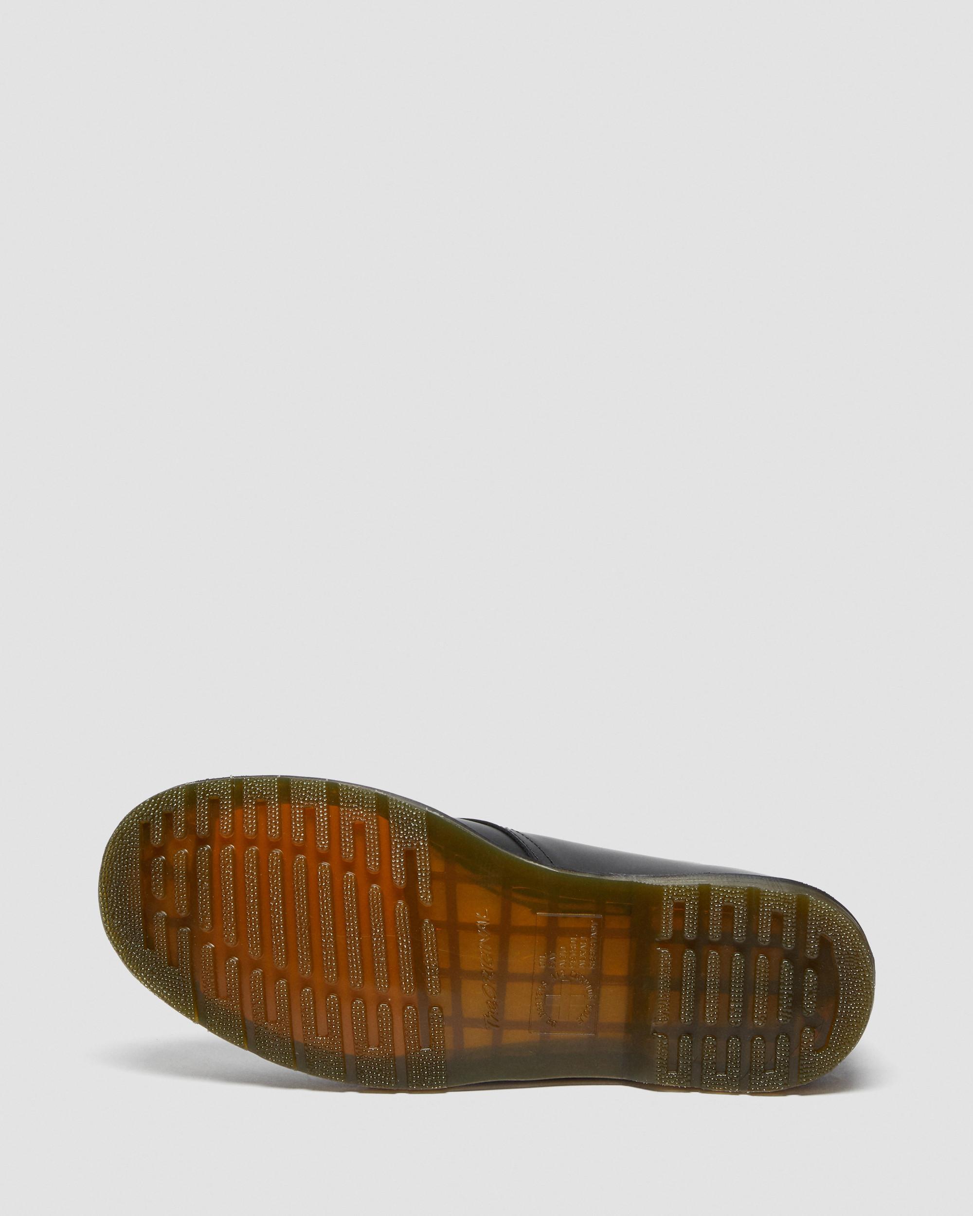 Unisex Dr Martens 1461 PW Black Greasy 3 Eye Shoe