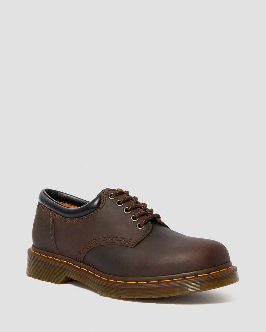 8053 CRAZY HORSE LEATHER CASUAL SHOES | Dr Martens