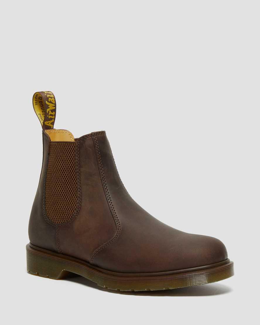 bester Ort für Rabattgutschein Kauf authentisch DR MARTENS 2976 Crazy Horse Leder Chelsea Boots