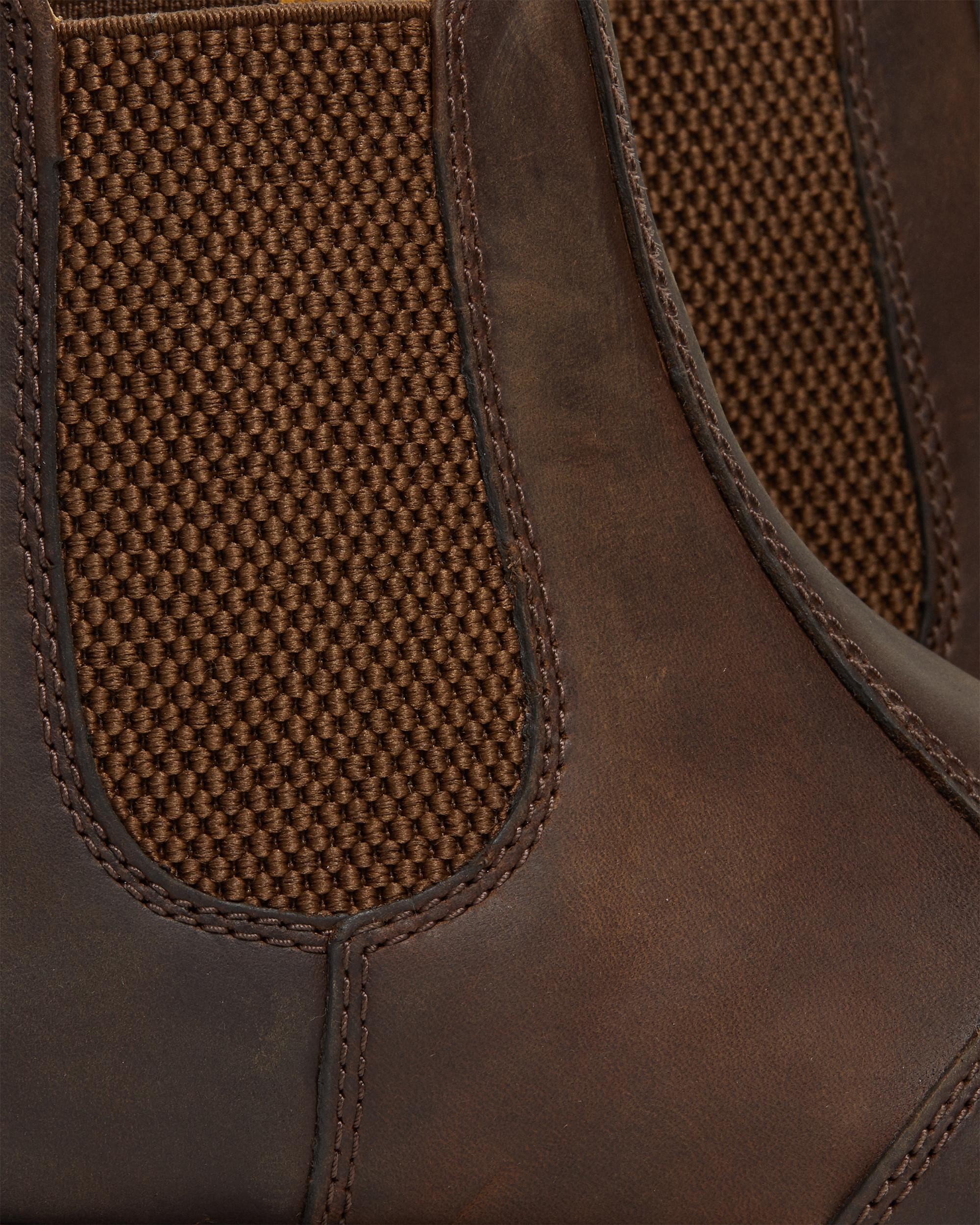 DR MARTENS 1461 gaucho crazy horse shoe UK Size 8 Free Postage