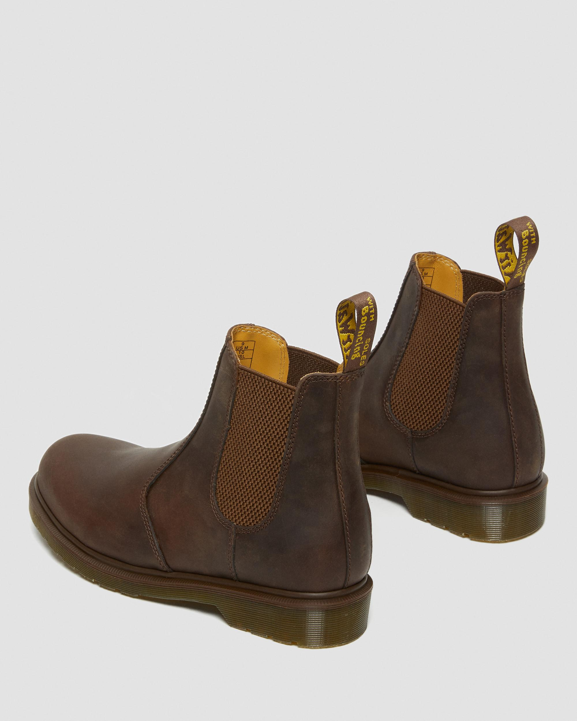 2976 CRAZY HORSE LEATHER CHELSEA BOOTS