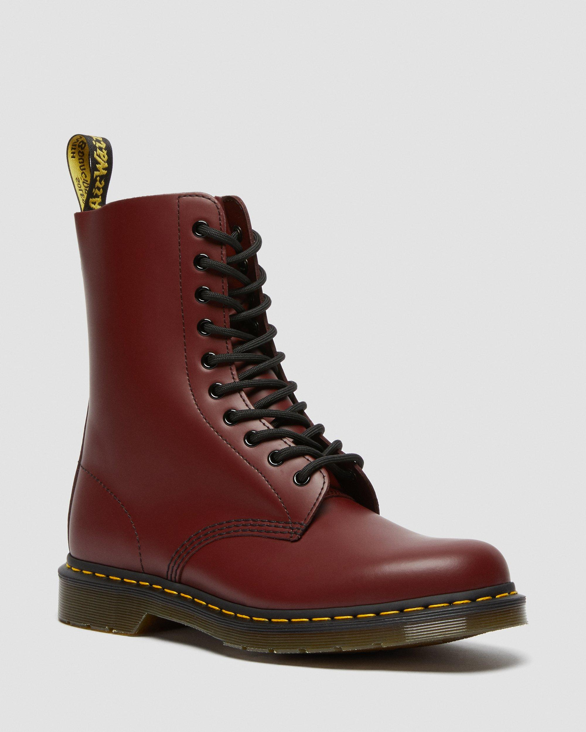 1490 SMOOTH LEATHER MID CALF BOOTS | Dr