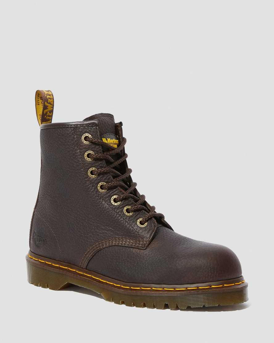 ICON 7B10 STEEL TOE WORK BOOTS | Dr Martens