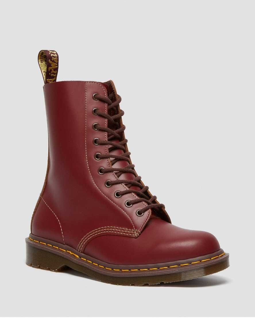 1490 Vintage Made In England Mid Calf Boots   Dr Martens