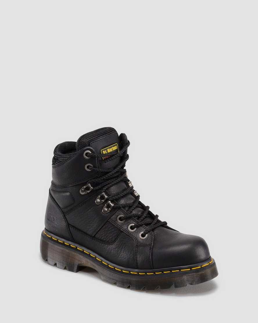 Ironbridge Extra Wide Grizzly Work Boots | Dr Martens