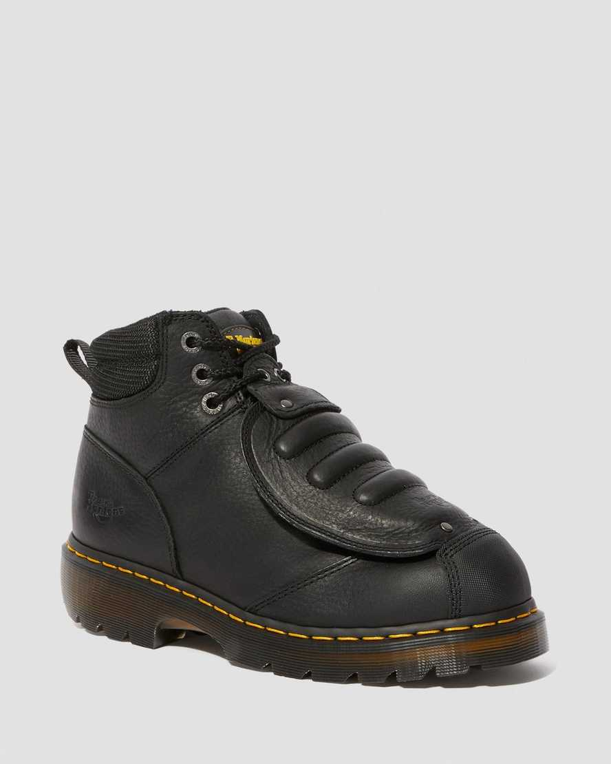 IRONBRIDGE GRIZZLY LEATHER MET GUARD WORK BOOTS | Dr Martens