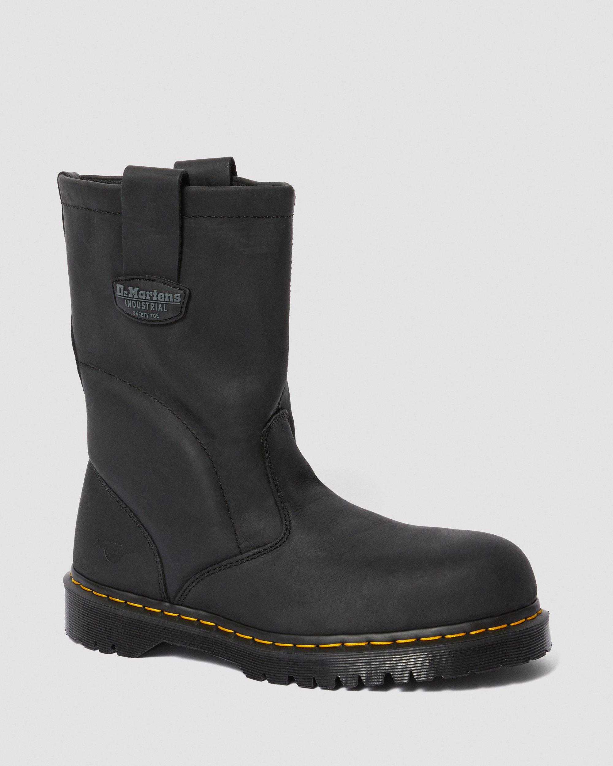 dr martens greasy boots
