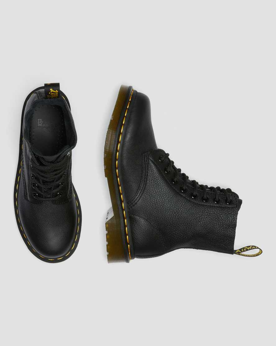 Gunmetal Damen Schuhe Stiefel Dr Martens 26224029 VEGAN 1460 PASCAL PRY