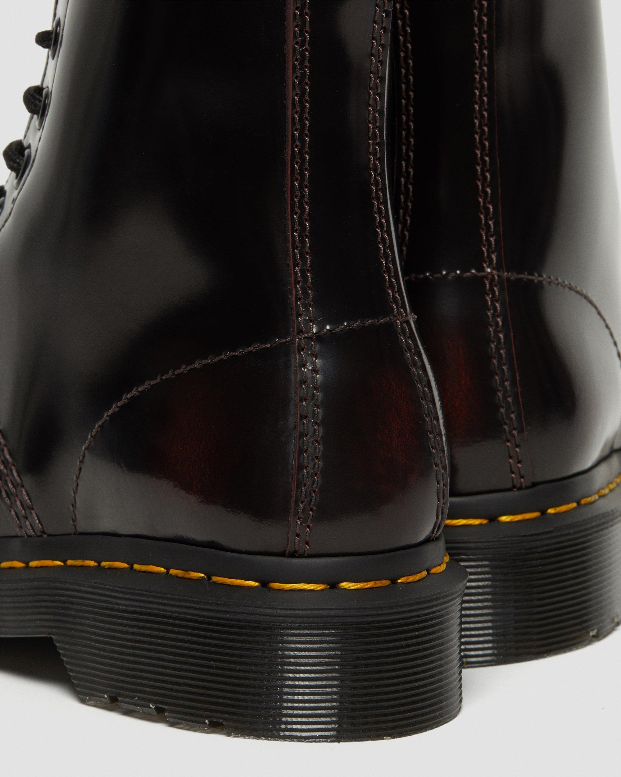 ARCADIA LEATHER LACE UP BOOTS | Dr. Martens