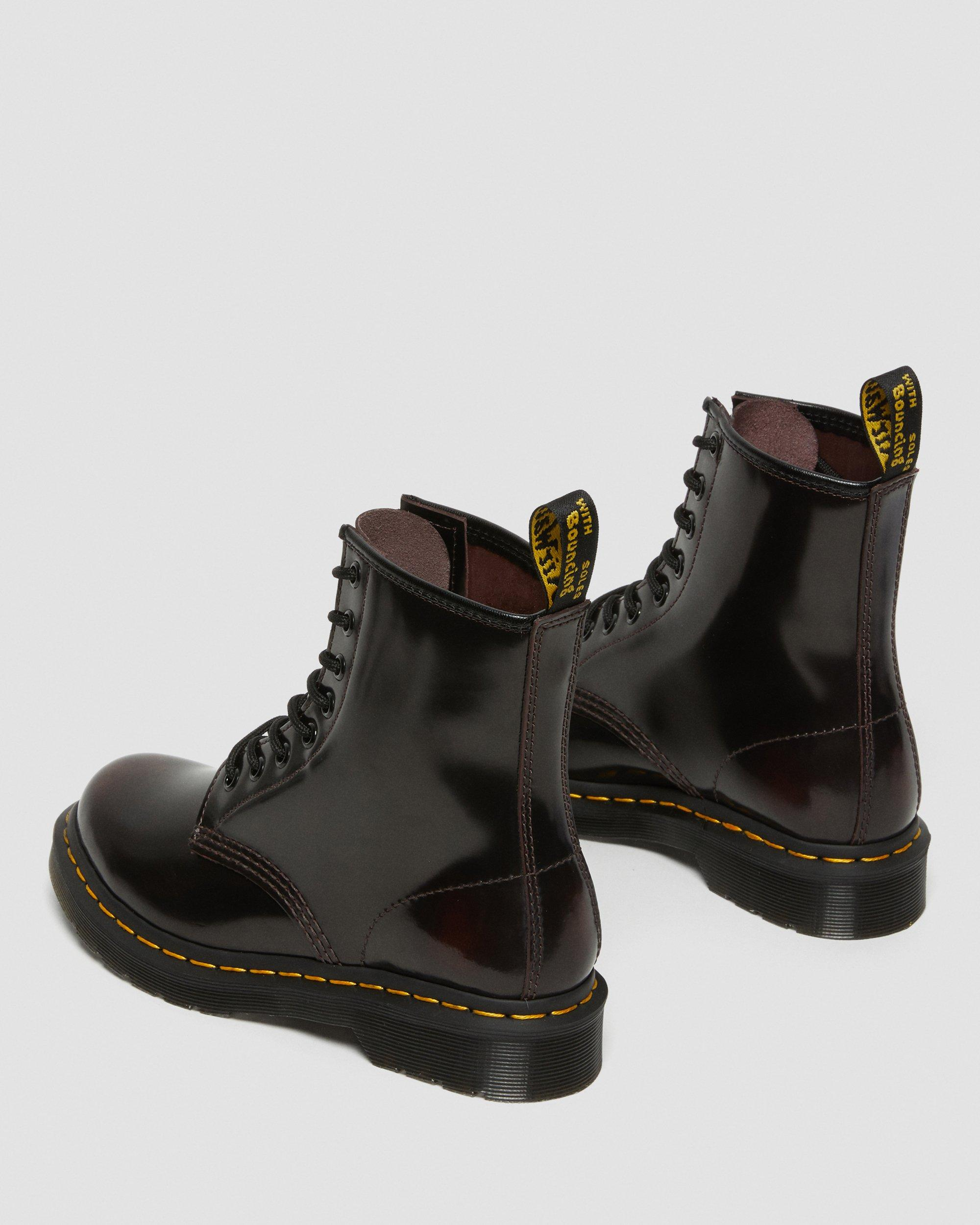 Red – Dr. Martens 1460 8 Eye Boot Womens Lace Up Cherry Red