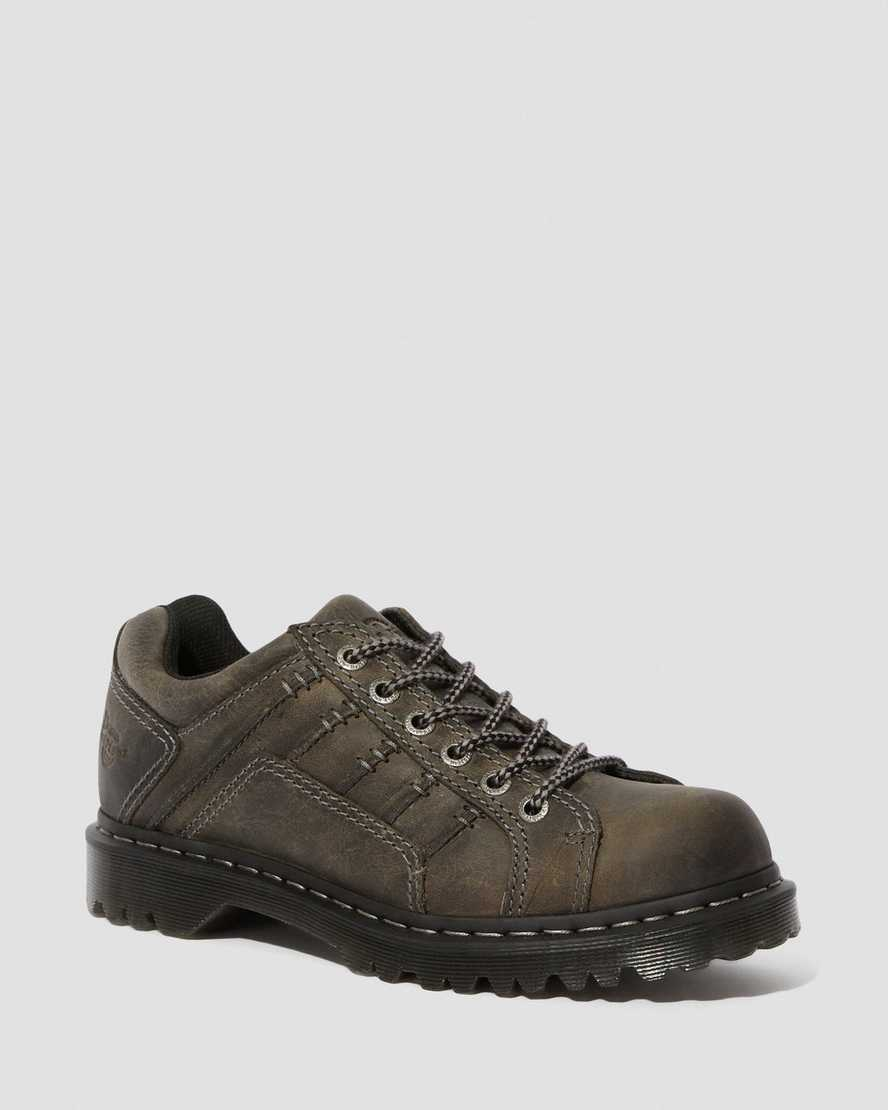 Keith Men's Leather Casual Shoes   Dr Martens