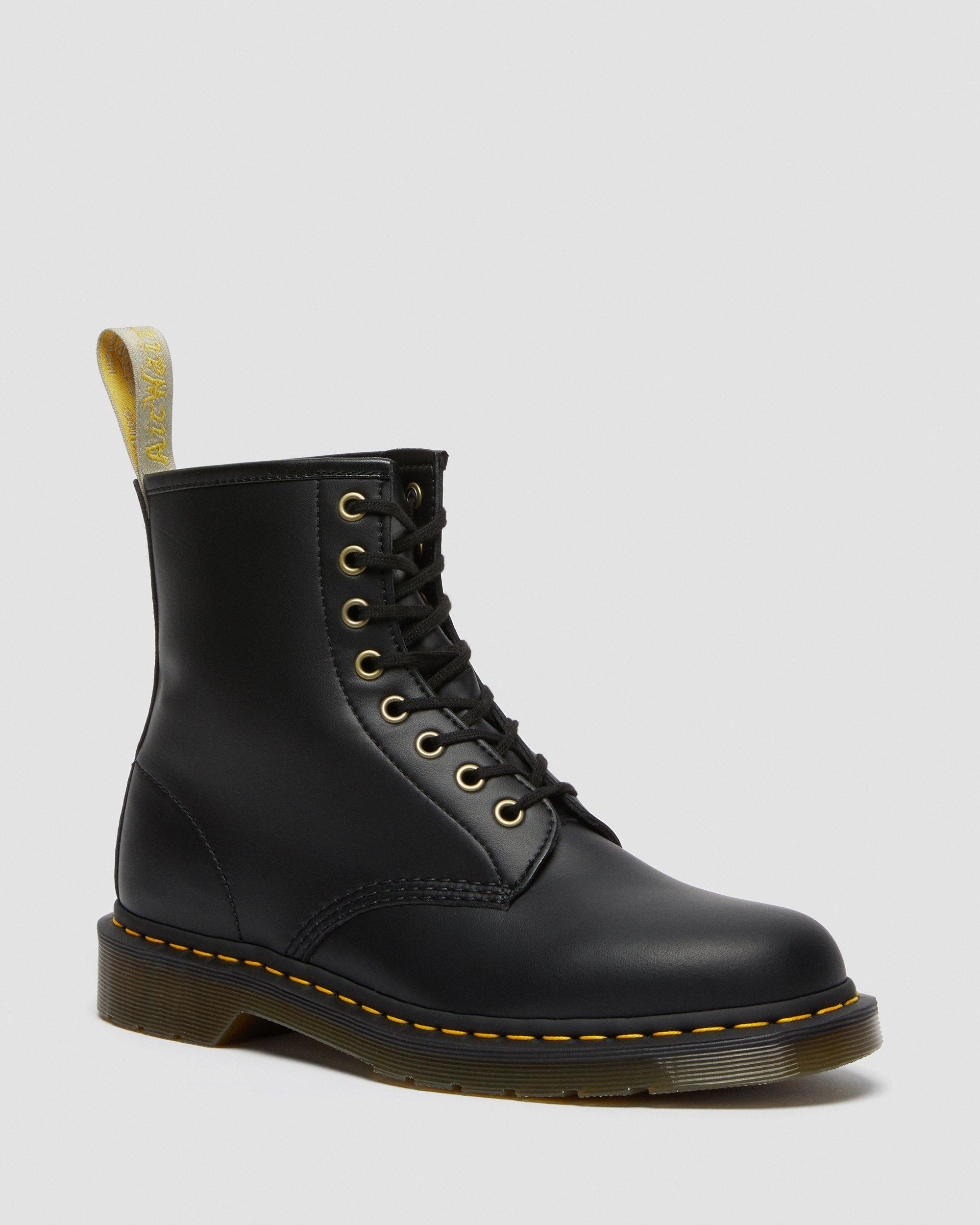 bottine noir plates imiation doc martins