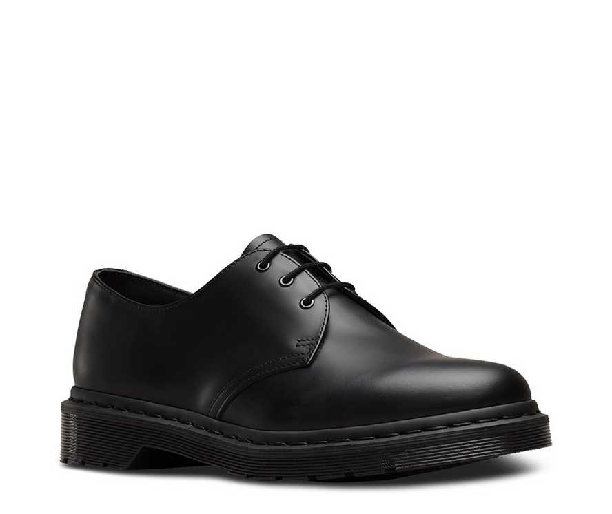 1bc24d743d MONO 1461 | Black and White Shoes & Boots | Dr. Martens Official