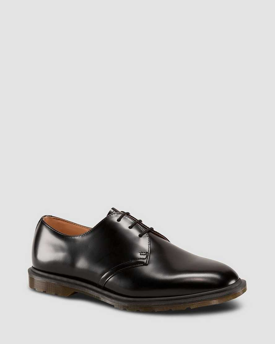 ARCHIE POLISHED SMOOTH SHOES | Dr Martens