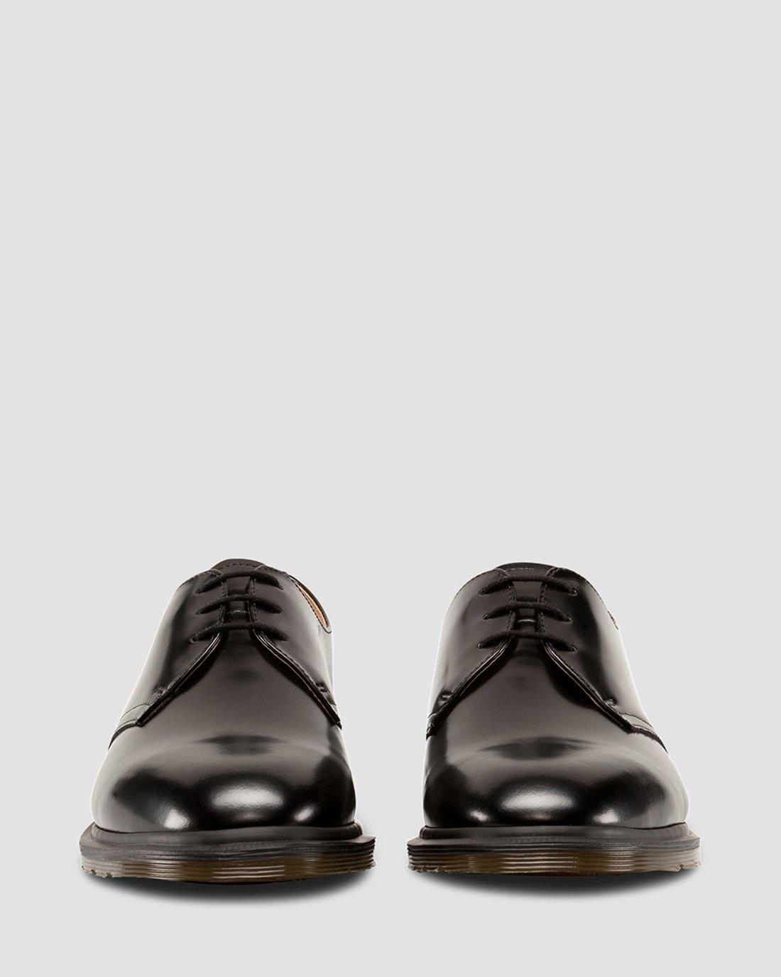 ARCHIE POLISHED SMOOTH SHOES | Dr. Martens