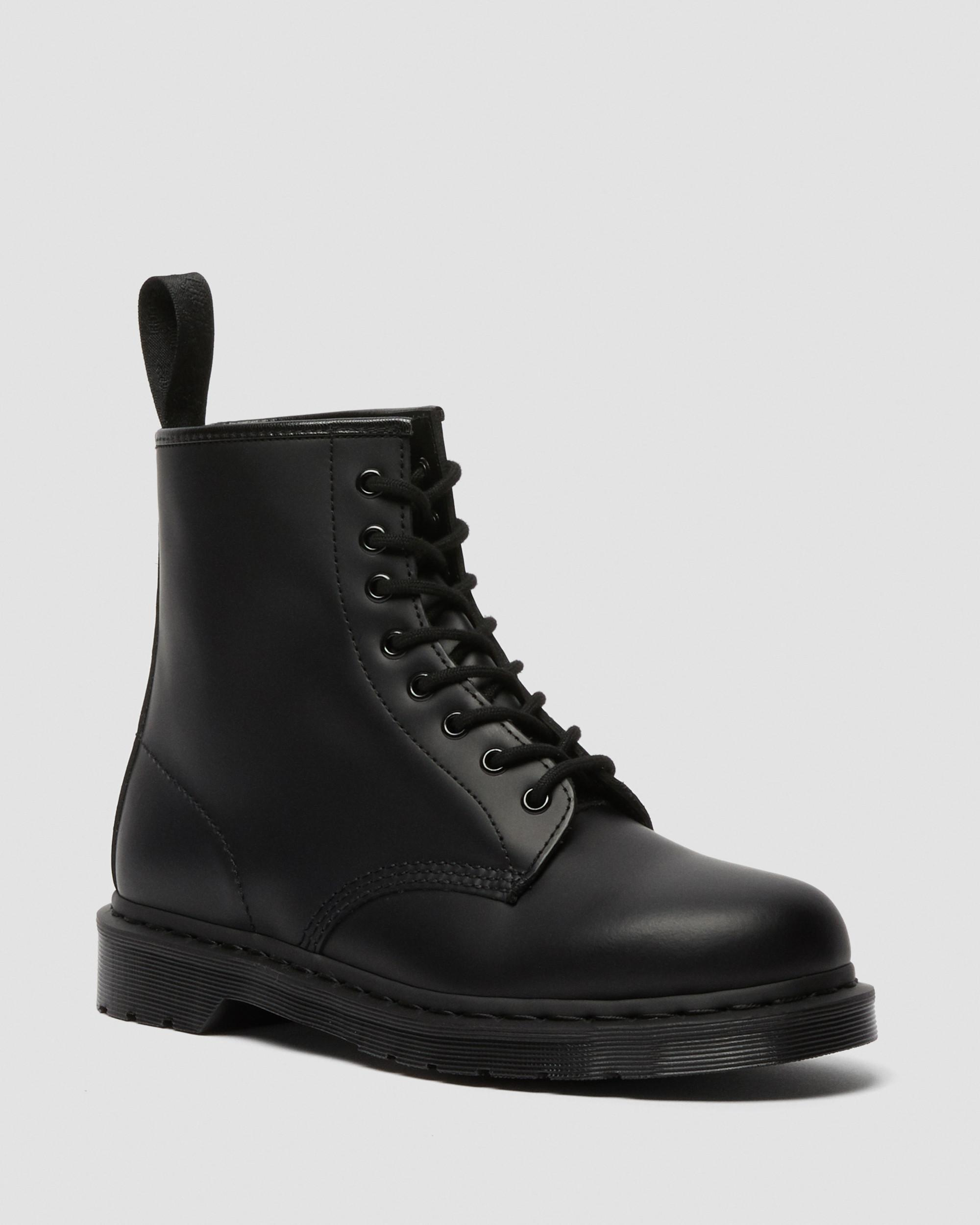 1460 MONO SMOOTH LEATHER LACE UP BOOTS | Original Best