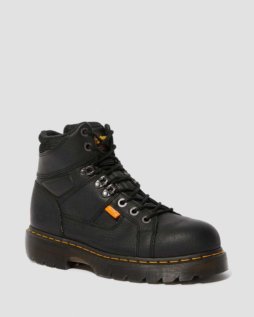 IRONBRIDGE EXTRA WIDE GRIZZLY MET GUARD WORK BOOTS | Dr Martens