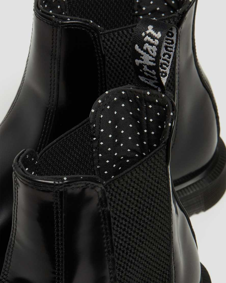 premium selection 2f582 cdf17 DR MARTENS FLORA SMOOTH CHELSEA BOOTS