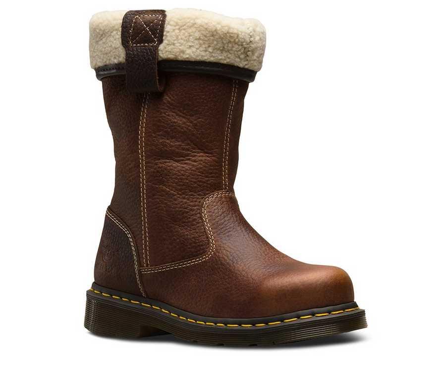 e47e6471982 Rosa Steel Toe Faux Fur Lined