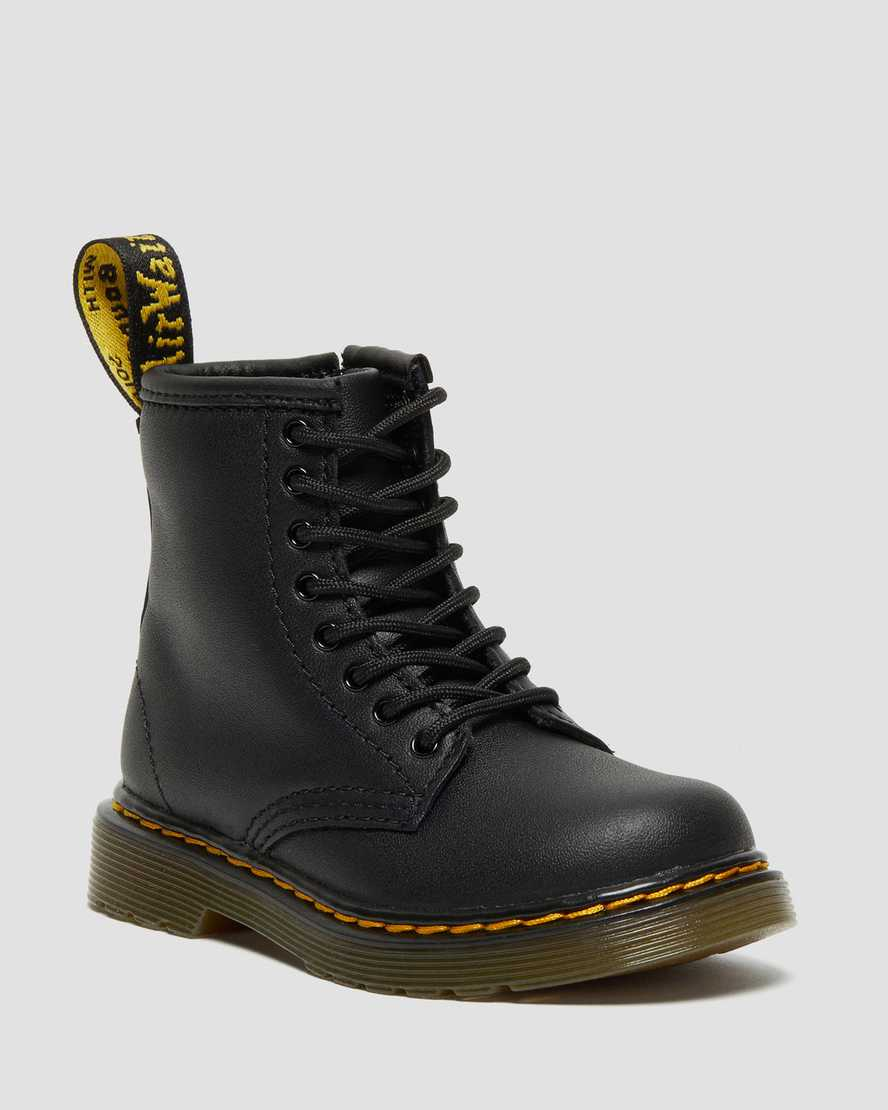 4f54c2e8cbf DR MARTENS TODDLER 1460 SOFTY T LACE UP BOOTS