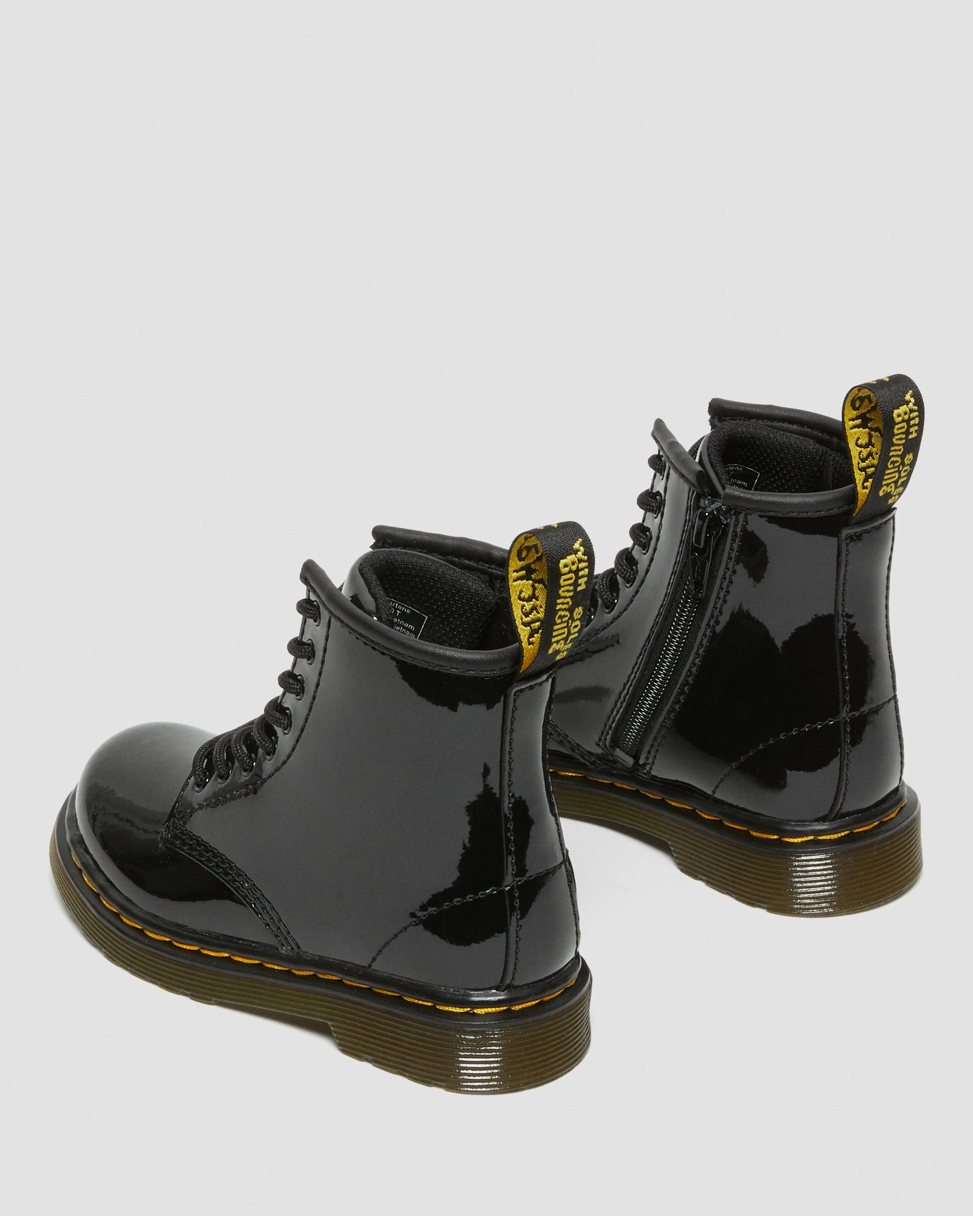 TODDLER 1460 PATENT LEATHER ANKLE BOOTS