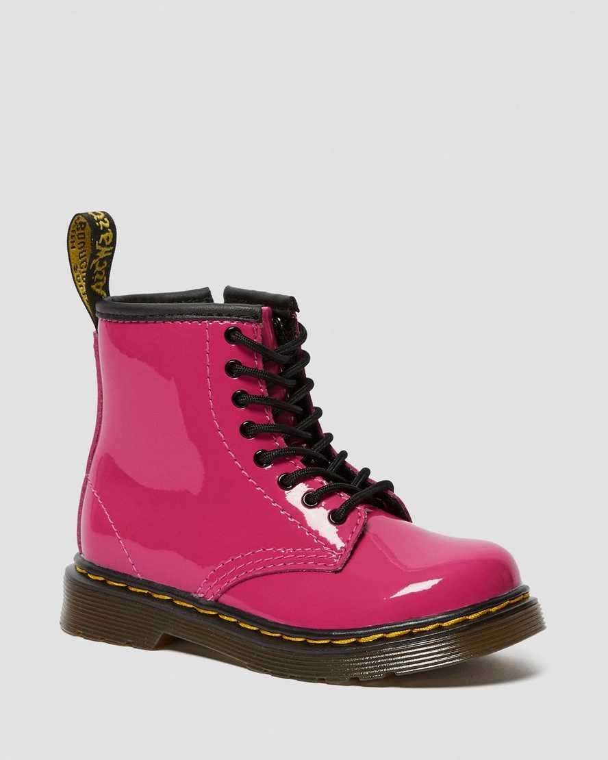 Toddler 1460 Patent Leather Lace Up Boots | Dr Martens