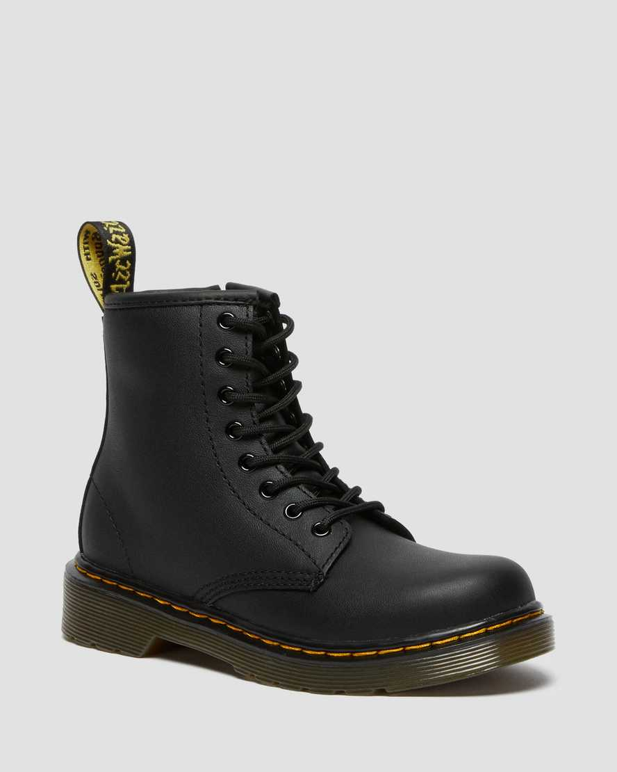 Coraggioso Volgarità Perfeziona  JUNIOR 1460 SOFTY T LEATHER LACE UP BOOTS | Dr. Martens Official