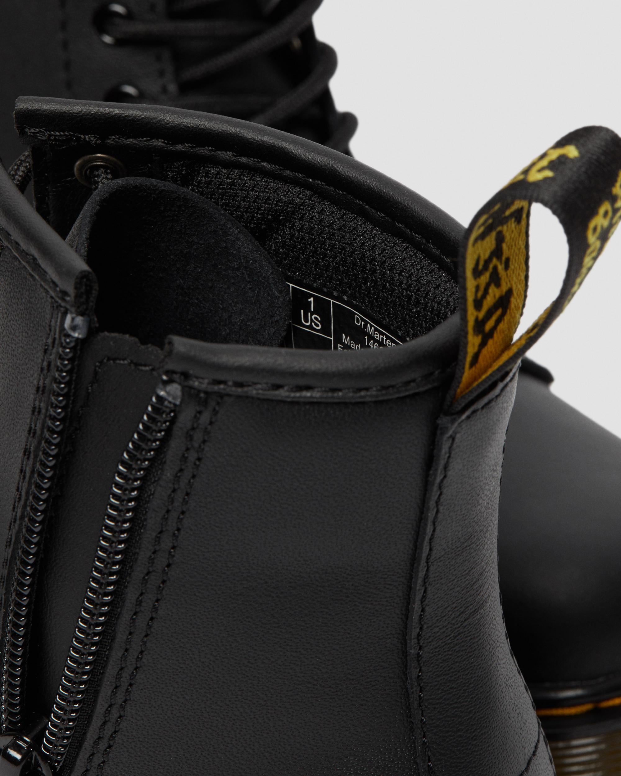 Dr. Martens Delaney Boots Leather (For Kids