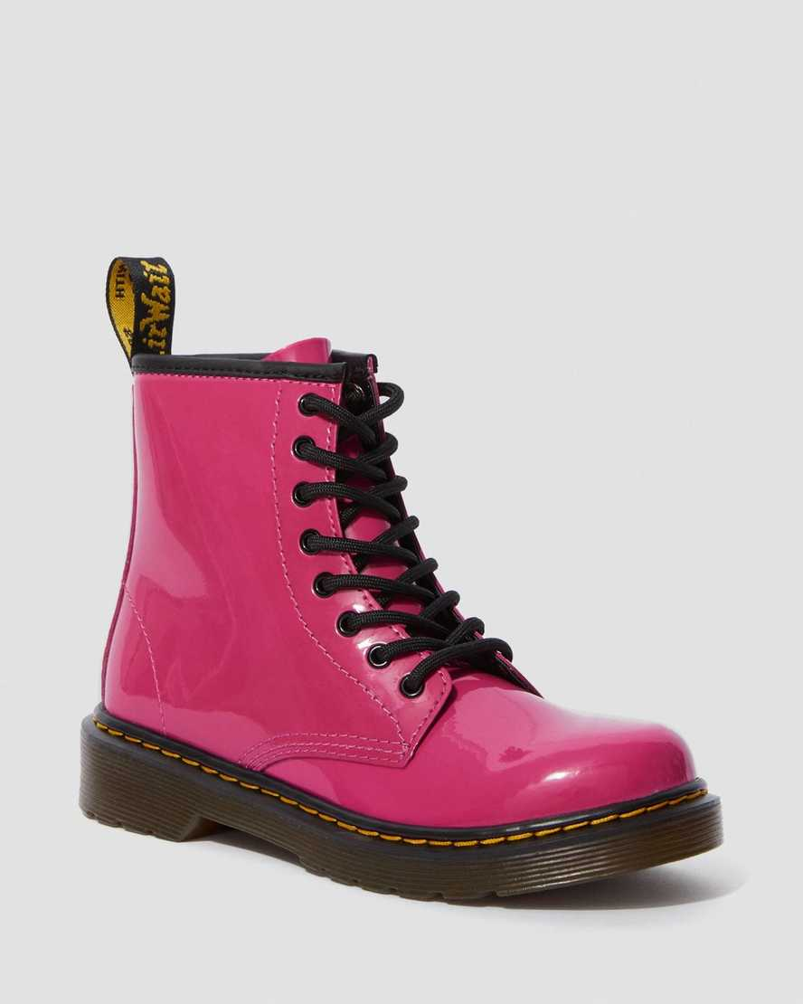 Junior 1460 Patent Leather Ankle Boots | Dr Martens