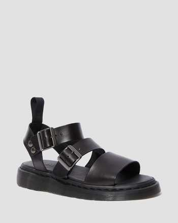 BLACK | Sandals | Dr. Martens