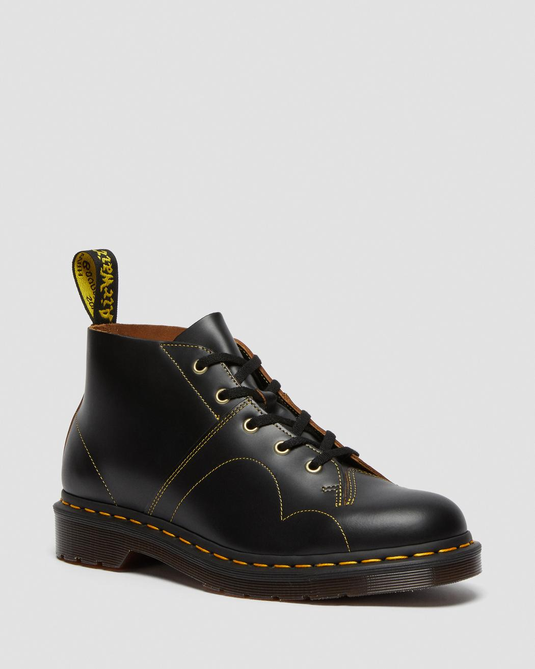CHURCH LEATHER MONKEY BOOTS DR. MARTENS