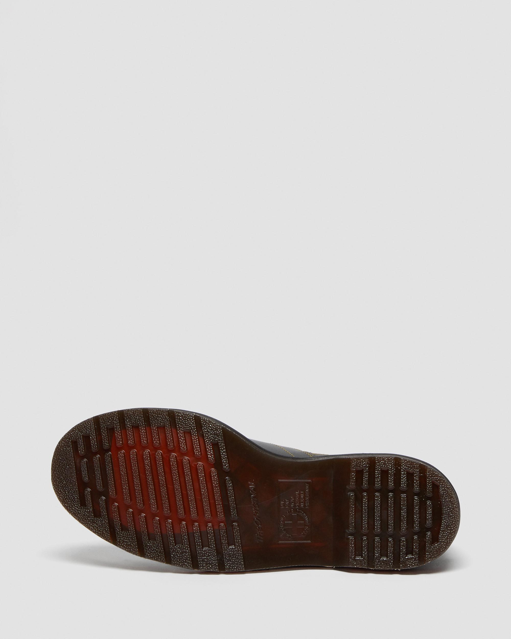 Dr. Martens Church Smooth 6 Eye Boots Black Vintage