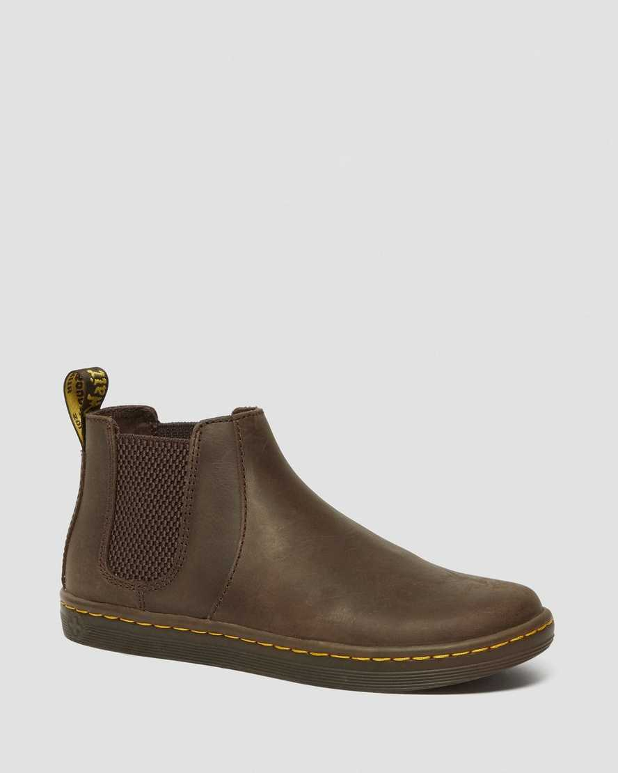 Katya Women's Leather Casual Chelsea Boots | Dr Martens